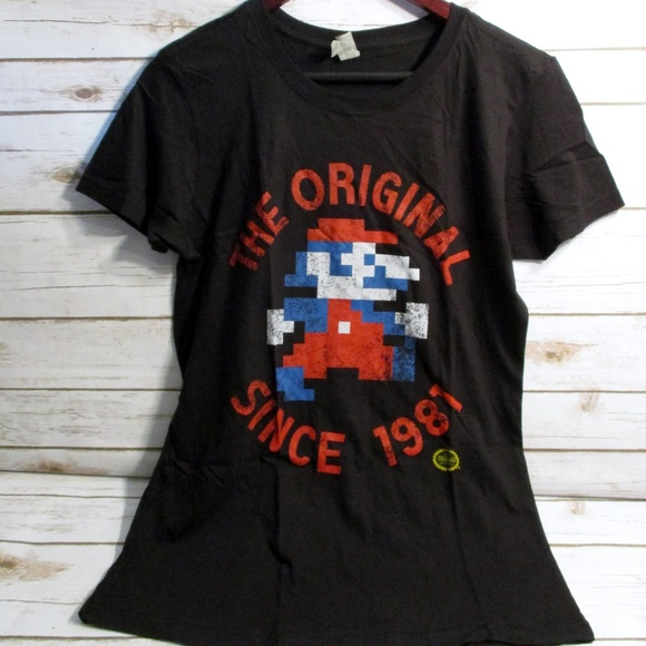 ed5333646a73a3 LootCrate Tops - New Nintendo Mario Jumpman T-Shirt - XL